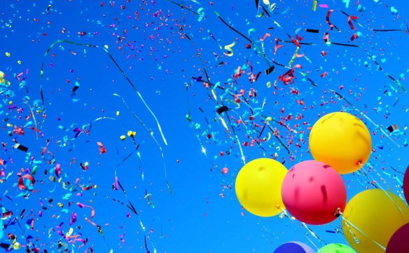 Balloner og konfetti