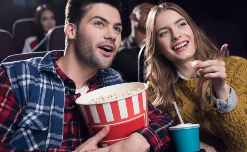 En tur på restaurant og en film i biografen er altid et sikkert hit
